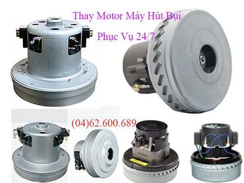 thay motor may hut bui tai ha noi