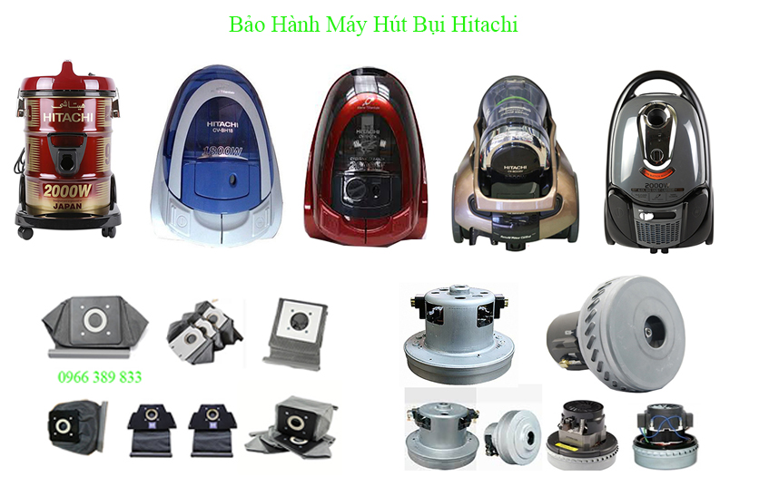 may hut bui hitachi