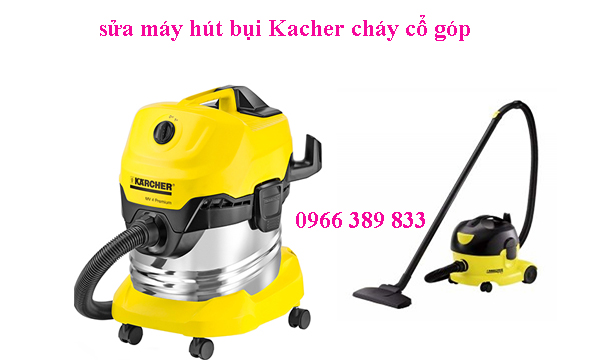 sua may hut bui kacher chay co gop tai ha noi