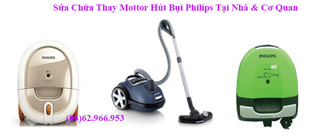 sua may hut bui philips co tieng no lup bup